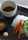 春雨のつけ麺