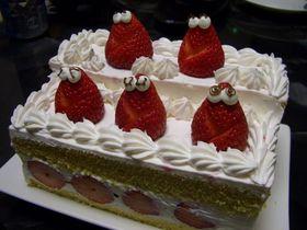 ひな壇ケーキ