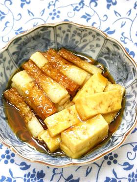 ●簡単♪ちくわと木綿豆腐の煮物●