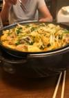 キムチの豚モツ鍋