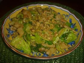 青汁野菜炒め