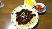 チャジャンミョン(韓国風ジャージャー麺)の写真