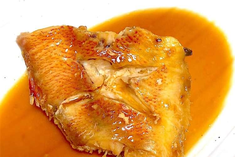 魚 煮付け 赤