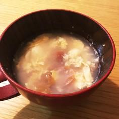妊娠中や風邪ひきさんに。さっぱり梅スープ