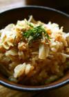 Staub de ごぼうご飯☆炊飯器OK