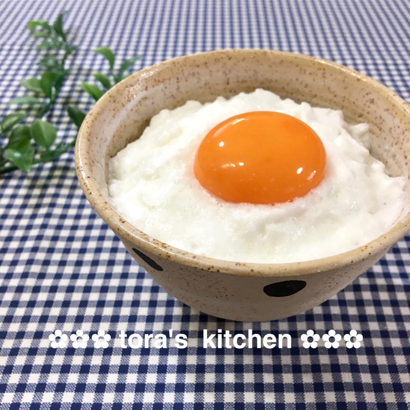 一手間でふわふわ食感☘️卵かけご飯