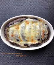 なすの肉味噌チーズ焼きの写真