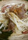 簡単!砂肝(ずり)とモヤシのにんにく炒め