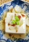 薬膳レシピ 百合根と梅のあんかけ豆腐