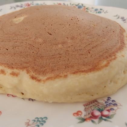 【ボール1つで簡単】小麦粉でホットケーキ