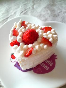 【離乳食】なんちゃってプチデコケーキ
