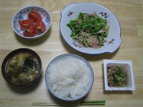 蒸し野菜炒め