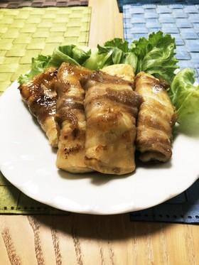 激うま☆豚バラ肉の豆腐巻き!