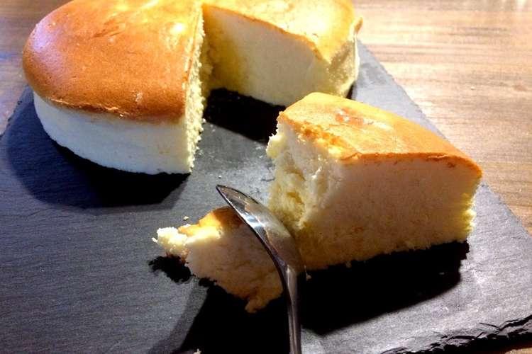 ケーキ スフレ 簡単 チーズ スフレチーズケーキ