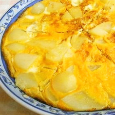 スペインオムレツ風・ジャガイモの卵とじ