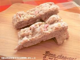 ポリ袋で簡単★りんごのスティックパン
