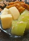 冬瓜と高野豆腐の煮物×SHiBORO