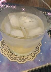 熱中症対策のドリンク リンゴ黒酢入り