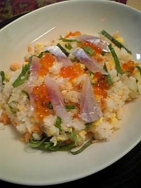 うちの簡単!鮭ちらし寿司