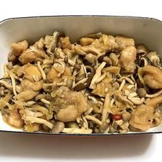 鶏肉ときのこの中華風南蛮漬け