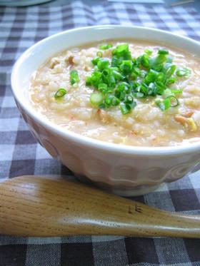 ふわとろ❤ピリ辛納豆たまご雑炊