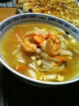 野菜たっぷり☆酸辣湯スープ