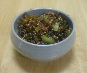 ご飯のお供に☆大根の葉の佃煮