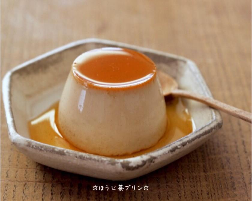 ☆ほうじ茶プリン☆