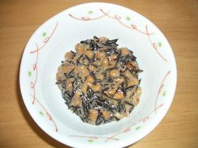ひじき納豆