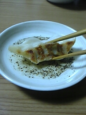 ❀餃子をさっぱり食べましょう❀