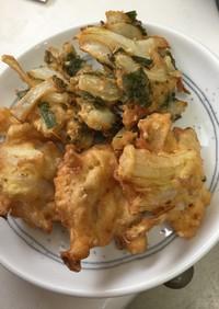 ツナと玉葱のポットン揚げ(焼き)