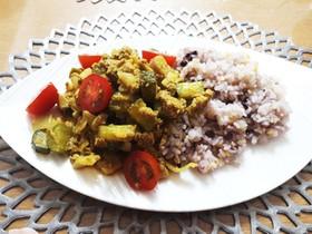 夏野菜の和ドライカレー