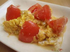 簡単☆卵とトマトの炒め物
