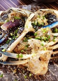 新鮮渡り蟹のカンジャンケジャン