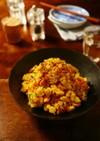 鶏チャーシューと卵の親子ポテトサラダ