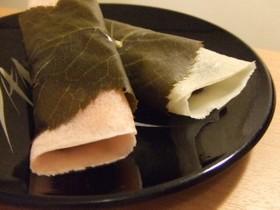 ミルクな桜餅~関東・長命寺~