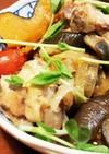 炊飯器で簡単♪夏野菜と鶏手羽元さっぱり煮