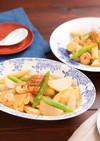 里芋と海老のピリ辛☆中華オイスター炒め