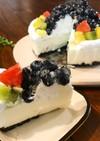 トッピング自由♡バニラヨーグルトケーキ
