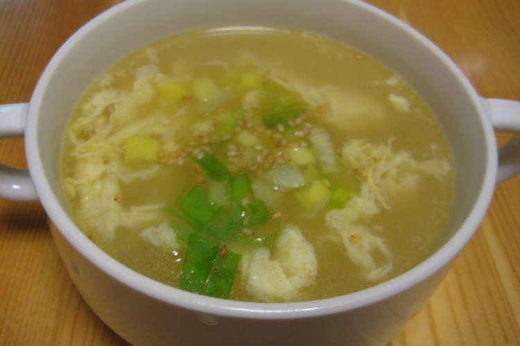 卵 焼肉 スープ 屋