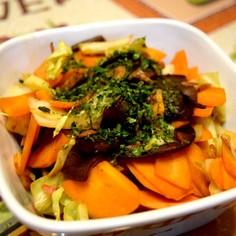 ウスターソースで焼きそば風野菜炒め♪
