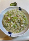 イタリアンシェフ直伝の山葵と蛸のリゾット