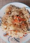 ☆鶏ゴボウの炊き込みご飯☆