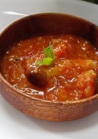 冷凍トマトのトマトソース