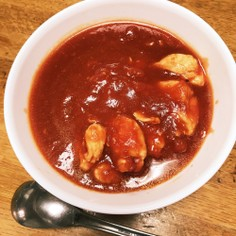 【10分もかからない!】ササミのトマト煮