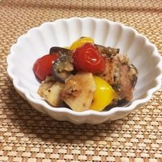 さっぱり美味♪なまり節と焼き野菜のマリネ