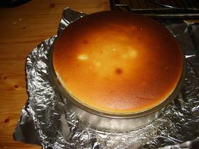 すべて使いきり、ベイクドチーズケーキ♪