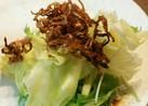 切り干し大根のせサラダ