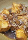 厚揚げと桜海老の炒め煮