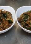 セブン若鶏肝しぐれ煮で簡単レバニラ